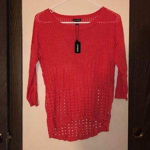 New with tag express long sleeve sweater sz sm